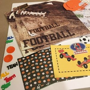 Other - Scrap book paper, stickers, embellishments